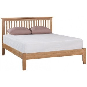 Mini Canterbury Oak Furniture 5ft King Size Bed Frame