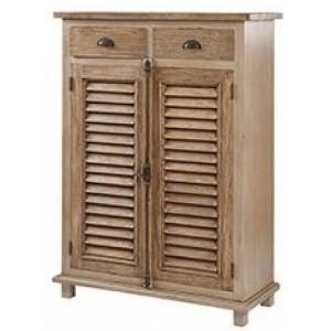 Pioneer Teak Furniture 2 Drawers 2 Doors Sideboard