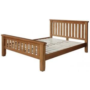 Sussex Oak Furniture 5ft King Size Bed Frame