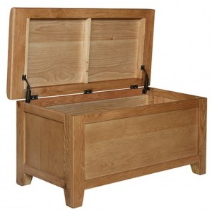 Sussex Oak Furniture Storage Blanket Box