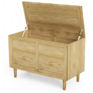 Homestyle Scandic Oak Furniture Blanket Box