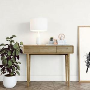 Homestyle Scandic Oak Furniture Hall Table - PRE-ORDER