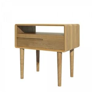 Homestyle Scandic Oak Furniture Lamp Table