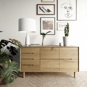 Homestyle Scandic Oak Furniture Large Sideboard