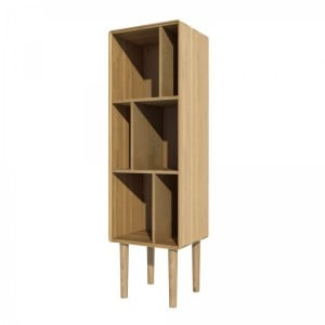 Homestyle Scandic Oak Furniture Narrow Cabinet - PRE-ORDER