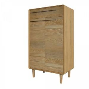 Homestyle Scandic Oak Furniture Shoe Cabinet