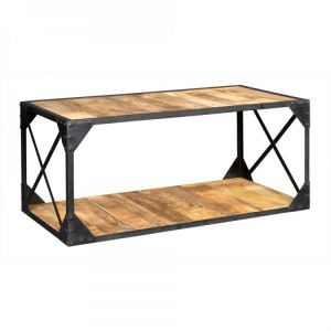 Ascot Industrial Furniture Coffee Table