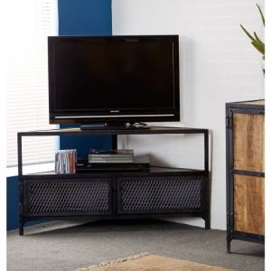 Ascot Industrial Furniture Corner TV Unit