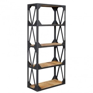 Ascot Industrial Furniture Large Bookcase