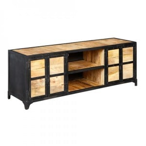 Ascot Industrial Furniture Large TV Unit