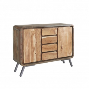 Aspen Reclaimed Iron & Wooden Furniture Large Sideboard