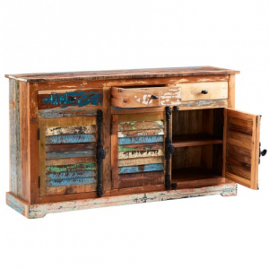 Coastal Reclaimed Wood Furniture Large Sideboard
