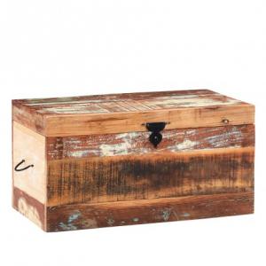 Coastal Reclaimed Wood Furniture Trunk Box
