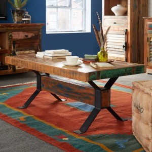 Coastal Reclaimed Wood Furniture Coffee Table