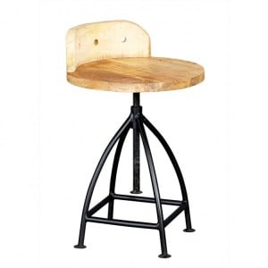 Cosmo Industrial Furniture Bar Stool
