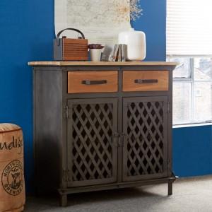 Evoke Industrial Furniture 2 Drawer & 2 Door Sideboard
