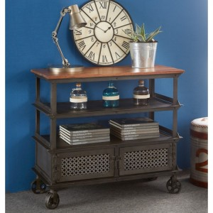 Evoke Industrial Furniture Console Table