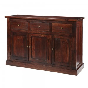 Jaipur Dark Mango Furniture Large Sideboard