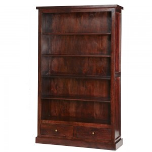 Jaipur Dark Mango Furniture Large Bookcase