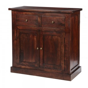 Jaipur Dark Mango Furniture 2 Door Sideboard