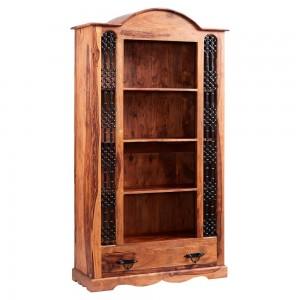 Jali Sheesham Furniture Large Bookcase