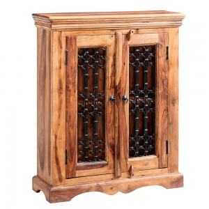 Jali Sheesham Furniture DVD Cabinet