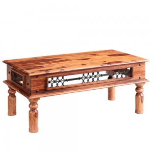 Jali Sheesham Furniture Large Coffee Table