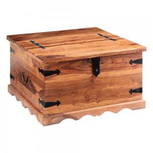 Jali Sheesham Furniture Coffee Trunk Table