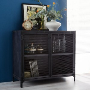 Metalica Industrial Furniture Iron Small Sideboard