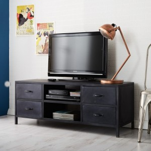 Metalica Industrial Furniture TV Cabinet