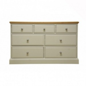 Intone Painted Furniture 3 over 4 Chest of Drawers