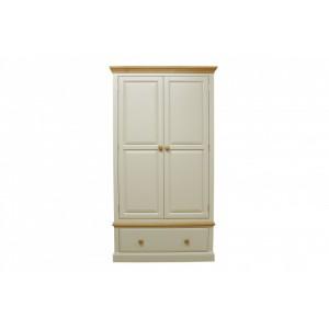 Intone Painted Furniture 2 Door Gents Wardrobe