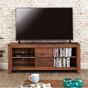 Mayan Walnut Furniture Widescreen TV Cabinet - PRE ORDER