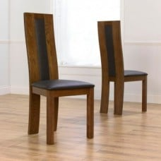 Dark Wood Dining Chairs