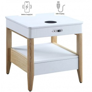 Jual Smart Technology Furniture Smart Lamp and Bedside Table with Charger