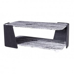 Jual Sorrento Furniture Grey Slate and Marble Coffee Table