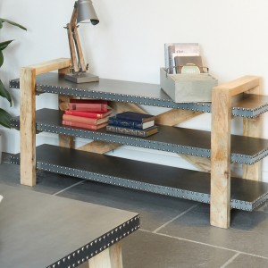 Kuba Furniture Low Bookcase / Sideboard