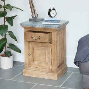 Kuba Furniture Lamp / Bedside Table