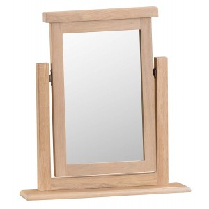 Langham Lime Washed Oak Furniture Vanity Mirror