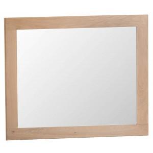 Langham Lime Washed Oak Furniture Large Wall Mirror