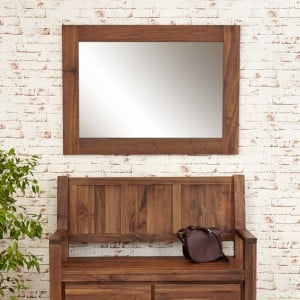 Mayan Walnut Furniture Medium Mirror - PRE ORDER
