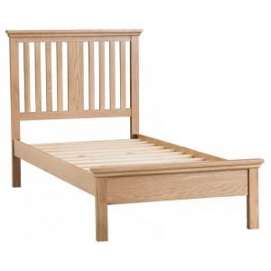 New Sherwood Oak Furniture 3ft Single Bed