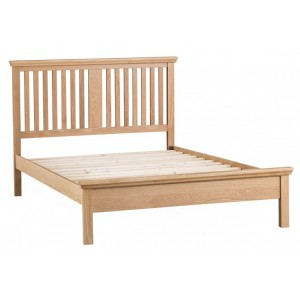 New Sherwood Oak Furniture 4ft 6 Double Bed