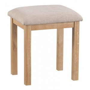 New Sherwood Oak Furniture Dressing Table Stool