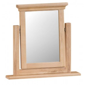 New Sherwood Oak Furniture Trinket Mirror