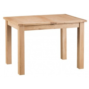 New Sherwood Oak Furniture 1.15m Butterfly Extending Table