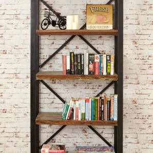 New Urban Chic Furniture Large Open Bookcase Furniture