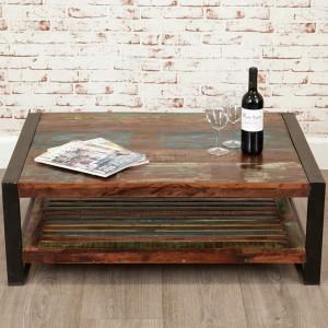New Urban Chic Furniture Rectangular Coffee Table
