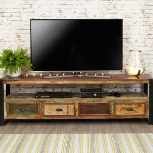 New Urban Chic Furniture Open Widescreen Television Cabinet- PRE ORDER
