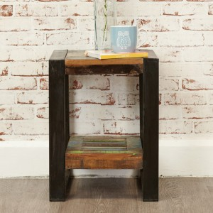 New Urban Chic Furniture Low Lamp Stand / Plant Table